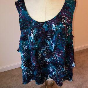 Fashion bug 3X sleeveless blouse